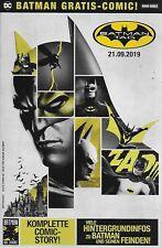 Batman Gratis Comic zum Panini Batman Tag 2019