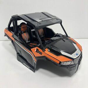 "Polaris General 1000 UTV Crawler R/C Hard Body Shell 1:14 Orange 8"" Wheelbase"