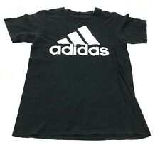Adidas Chemise Taille M Noir Blanc Manches Courtes Go-To Tee 3 Rayures Pyramide