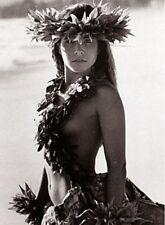 "Kim Taylor Reece ""Makaki'i"" 16 X 20 Double Matted Hawaiian Hula Print - New"