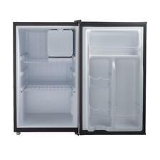 Mini Fridge With Freezer Small Compact Black Refrigerator Single Door 2.7 Cu New