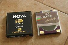 Hoya 67mm IR filter and HD Cir Polarizer