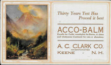 R. Atkinson Fox Signed, Bear On Rock, Mt's, Rare Print Is On A Ink Blotter 1920s
