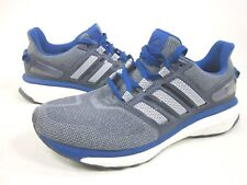 ADIDAS PERFORMANCE MEN'S ENERGY BOOST 3 M RUNNING SHOES,GREY/BLUE,US SIZE 9.5 M