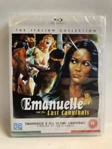 EMANUELLE AND THE LAST CANNIBALS rare UK 88 Films BLU-RAY Italian video nasty