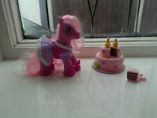 My Little Pony Pinkie Pie`s Party Party dress up set 2008 cake & Pony & outfit