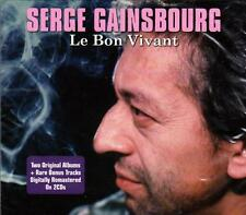 SERGE GAINSBOURG - LE BON VIVANT (NEW SEALED 2CD)
