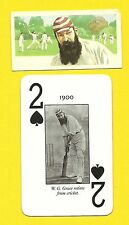 Doctor W G Grace Father of Cricket Fab Card Collection medical practitioner