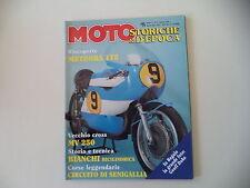 MOTO STORICHE E D'EPOCA 4/1996 MV AGUSTA 250 CROSS/METEORA 175/ALPINO/DEMM 50