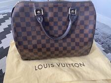 AUTHENTIC LOUIS VUITTON SPEEDY 30 DAMIER  HAND BAG