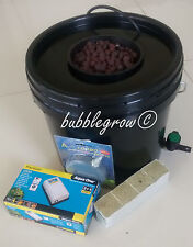 Bubble Grow 1 SHOT Hydroponic Bubbleponic DWC Plant Growing Kit System Bubbler