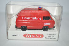 """Wiking 0601 21 VW T3 Kastenwagen (""""EINSATZLEITUNG"""") for Marklin-NEW w/BOX"""