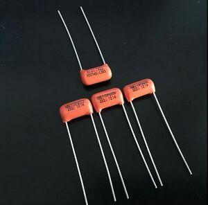 2PCS Sprague Orange Drop capacitor 715P 600V 0.0022UF