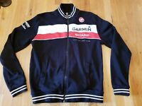 Castelli Garmin Mens M Track Jacket Pro Road Cycling Racing Biking team black