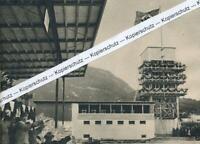 Garmisch - Hebefeier des Kunsteinsstadions für Olympia - um 1935   R 4-9