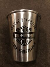 HARLEY-DAVIDSON VEHICLE OPERATIONS YORK Pennsylvania Metal SHOT GLASS