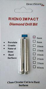 Diamond Holesaw 6mm- 50mm Tile Ceramic Glass Porcelain Marble Granite Drill Bits