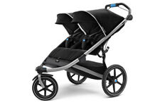 Thule Urban Glide 2 Double All Terrain Stroller - Jet Black