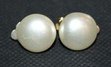 Genuine Vintage Pair of Clip-On Earrings - Costume Jewellery - Hong Kong