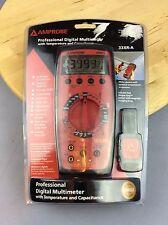 BEHA-AMPROBE 33XR-A manuale che vanno Digitale Multimetro, conteggio 3999 con temperature