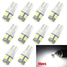 10x T10 5050 W5W 5 SMD 194 168 LED White Car Side Wedge Tail Light Lamp