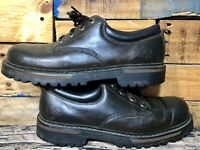 Skechers Mens Sz 12 Brown Leather Lace-ups Work Boots Urban Shoes SN #60997