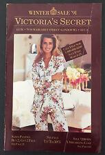 Vtg WInter 1991 Victoria Secret Catalog Swimsuit Underwear Bikini