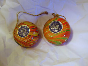 2 OLDER YO-YO'S, STILL HAVE THERE LABELS ON THEM, SWIRL PAINTED, COOL, USED, NRS