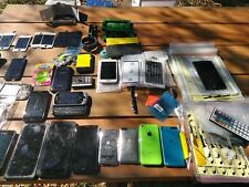 Technicians Lot of NEW and used Parts most are for iPhone 4/5 screens Huge lot