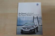 73705) VW Passat + Variant individual Prospekt 11/2007