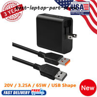 FOR LENOVO Yoga 4 700 900 65W AC Adapter Charger + USB ADL65WDA 40W lot
