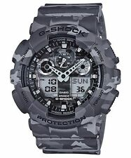 Casio G-Shock GA-100CM-8A Camouflage Series Analog Digital Watch