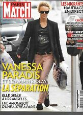 PARIS MATCH N° 3446--VANESSA PARADIS SEPARATION BIOLAY/MC CARTNEY/SCHWARZY