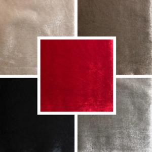 Velour Velvet Fabric Upholstery Material High Quality Cushion Craft FR BS7177
