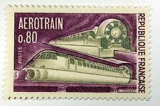 TIMBRE FRANCE NEUF LUXE N° 1631 ** MNH AEROTRAIN BERTIN ANCETRE DU TGV