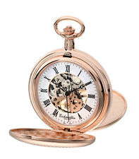 Eichmüller 8214-02, ROSE, + KETTE + BOX, žepna ura - pocket watch -Taschenuhr