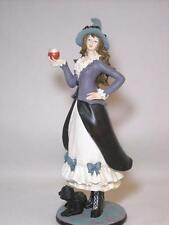 """LENOX """"SASSY SPELLBINDER"""" HALLOWEEN WITCH W/ CAT AND WITCHES BREW POTION"""