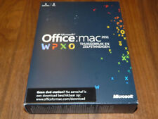 Microsoft Office Mac 2011 DVD Home & Business niederländische Vollversion dutch