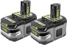 Ryobi Batteries Rechargeable P164 18-Volt ONE+ 6.0Ah Lithium Ion HP (2-Pack)