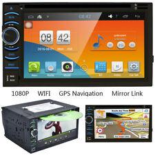 "Android WiFi GPS NAV Autoradio USB/SD/AUX/MP3/CD DVD Player 6,5"" Doppel-2DIN FM"