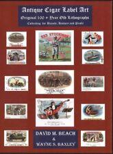 c1885 Baseball Cigar Box Label Lithographs Art Images Superb New Book