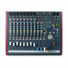Allen & Heath ZED60-14FX Live and Studio Mixer w/Digital FX & USB Port New