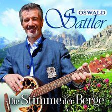OSWALD SATTLER - DIE STIMME DER BERGE  CD NEU