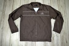 FRED PERRY MEN'S BROWN SWEATSHIRT_size XL ExLarge