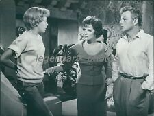 1961 The Parent Trap Original Press Photo Hayley Mills Brian Keith