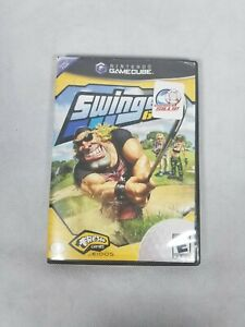 Swingerz Golf (Nintendo GameCube, 2002) Complete Tested Video Game Sports