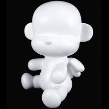 "3.5"" Baby Qee DIY Angel Mon monkey - White Figure Plastic - TOY2R"