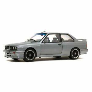 Solido 1990 BMW E30 M3 Sterling Silver 1:18 Scale Model Car - Brand New