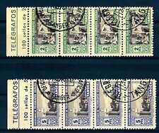 SPAIN-TANGIER - SPAGNA-TANGERI - 1946 - Francobolli di beneficenza.Quartina.R454