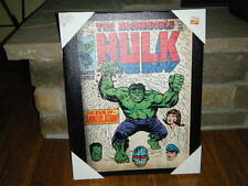 "VINTAGE THE INCREDIBLE HULK 1969 COMIC VOL 1 #116 COVER MATTED CANVAS 16"" X 20"""